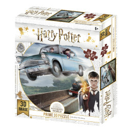 PUZZLE LENTICULAR HARRY POTTER FORD ANGLIA