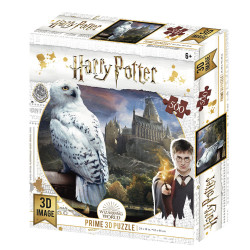 PUZZLE LENTICULAR HARRY POTTER HEDWING