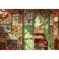 OLD GARAGE, ARLY JONES