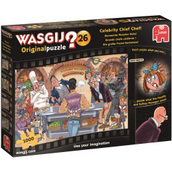 WASGIJ OFIGINAL 26 CELEBRITY CHIEF CHEF