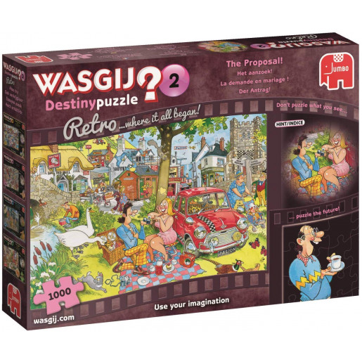 WASGIJ RETRO DESTINY 2 STOP THE PROPOSAL