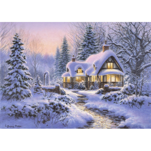 WINTER'S BLANKET WOULDBLE COTTAGE