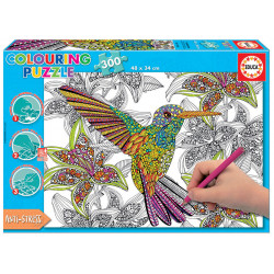 HUMMINGBIRD COLOURING